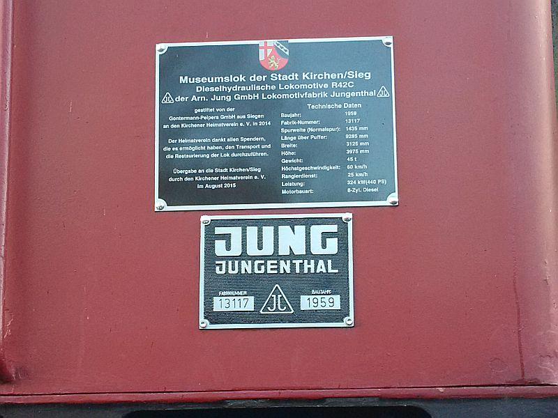 Denkmalslok Jung R42 C in Siegen Img_2023