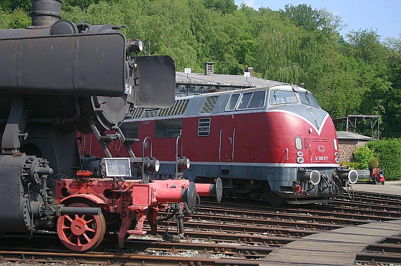 Besuch im Eisenbahnmuseum Bochum Dahlhausen am 11.05.18 Img_6415