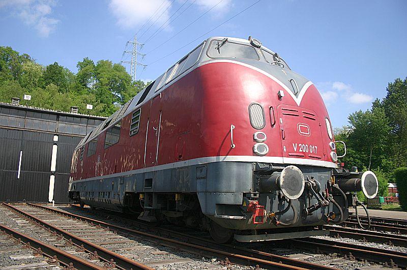 Besuch im Eisenbahnmuseum Bochum Dahlhausen am 11.05.18 Img_6418