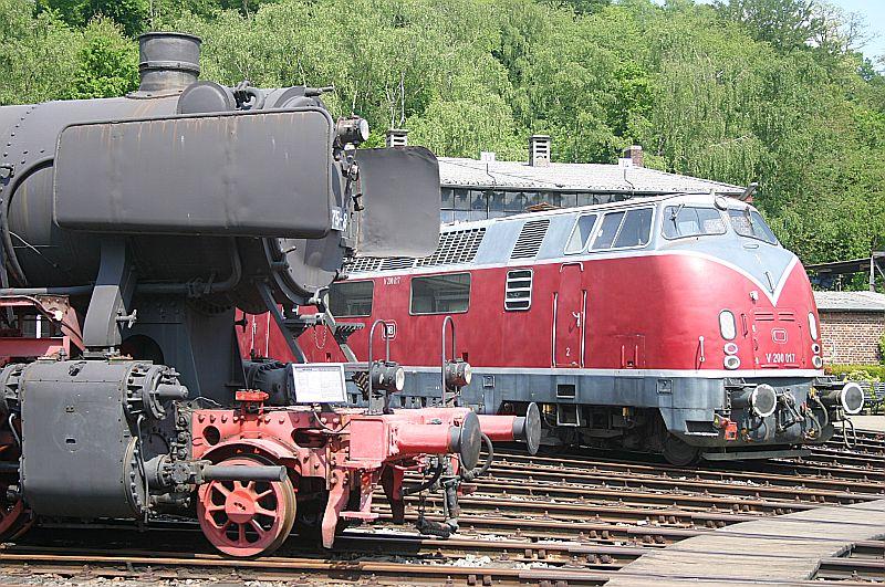 Besuch im Eisenbahnmuseum Bochum Dahlhausen am 11.05.18 Img_6636