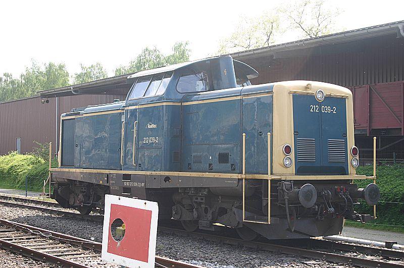 Besuch im Eisenbahnmuseum Bochum Dahlhausen am 11.05.18 Img_6640