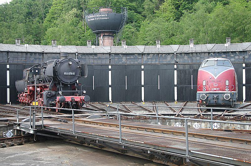 Besuch im Eisenbahnmuseum Bochum Dahlhausen am 11.05.18 Img_6668