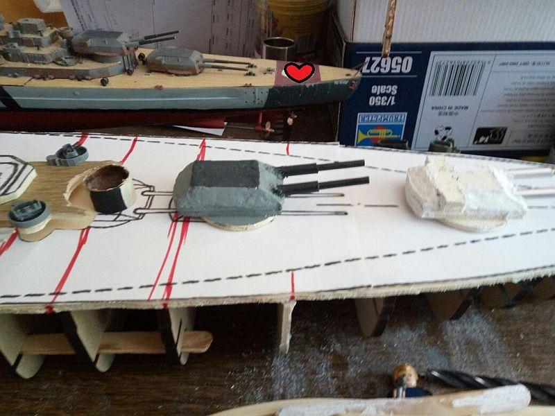 Schlachtschiff-Entwurf H-44 in 1/350 Xjkupx10