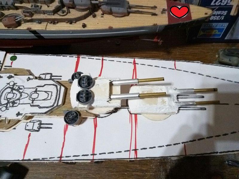 Schlachtschiff-Entwurf H-44 in 1/350 Zftxii10