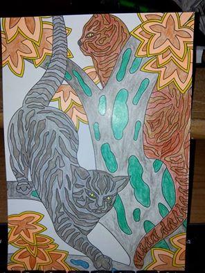 Dessin et coloriage anti-stress 12717912