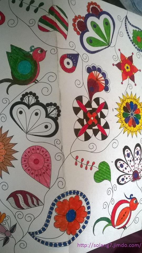 Dessin et coloriage anti-stress 14488063