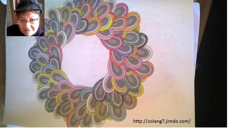 Dessin et coloriage anti-stress 14488065