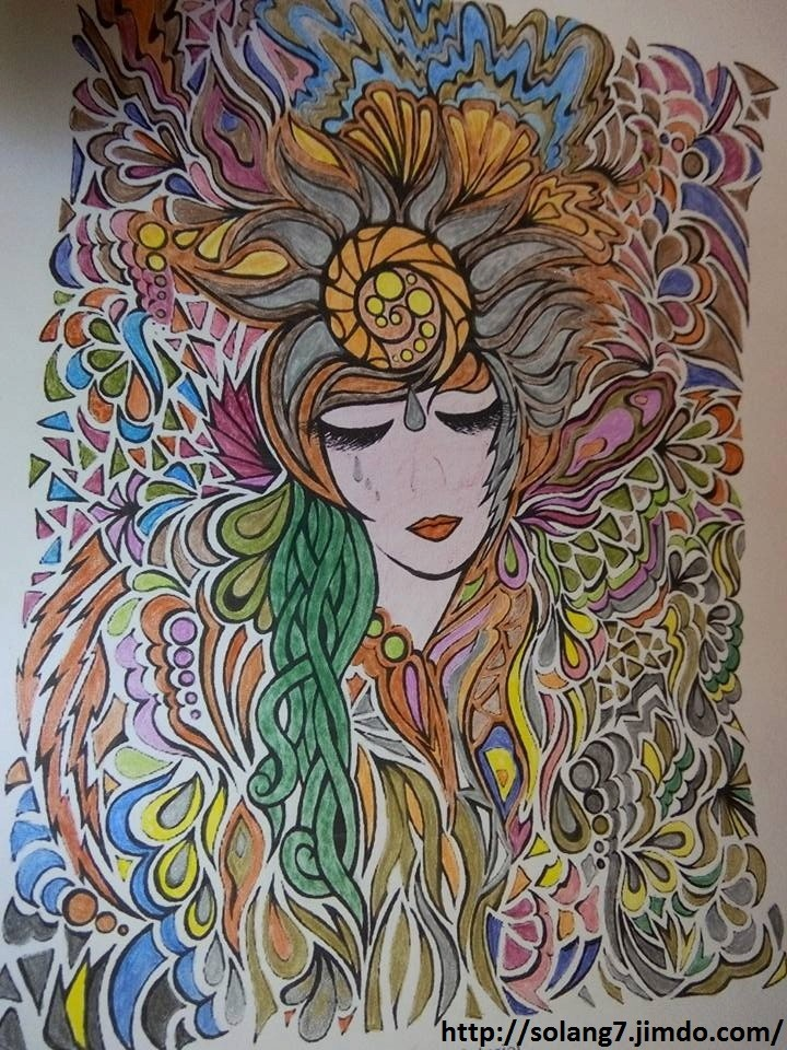 Dessin et coloriage anti-stress 14531117