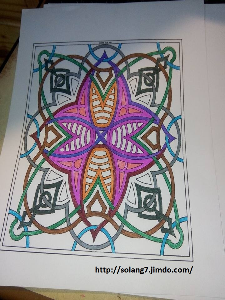 Dessin et coloriage anti-stress 14531915