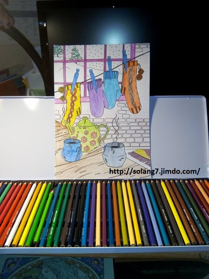 Dessin et coloriage anti-stress 14550316