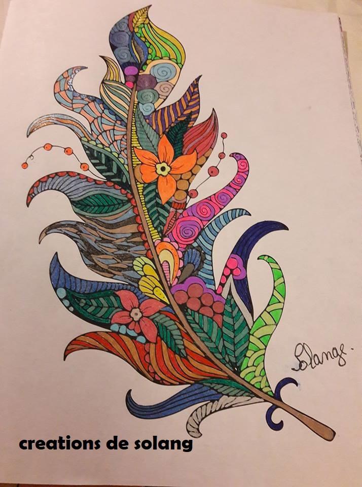 Dessin et coloriage anti-stress 22140812