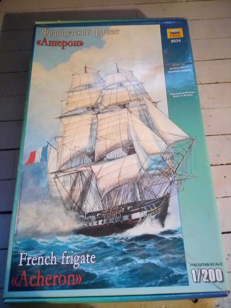 Fregate Française ACHERON   zvezda 1/200 Img_2051
