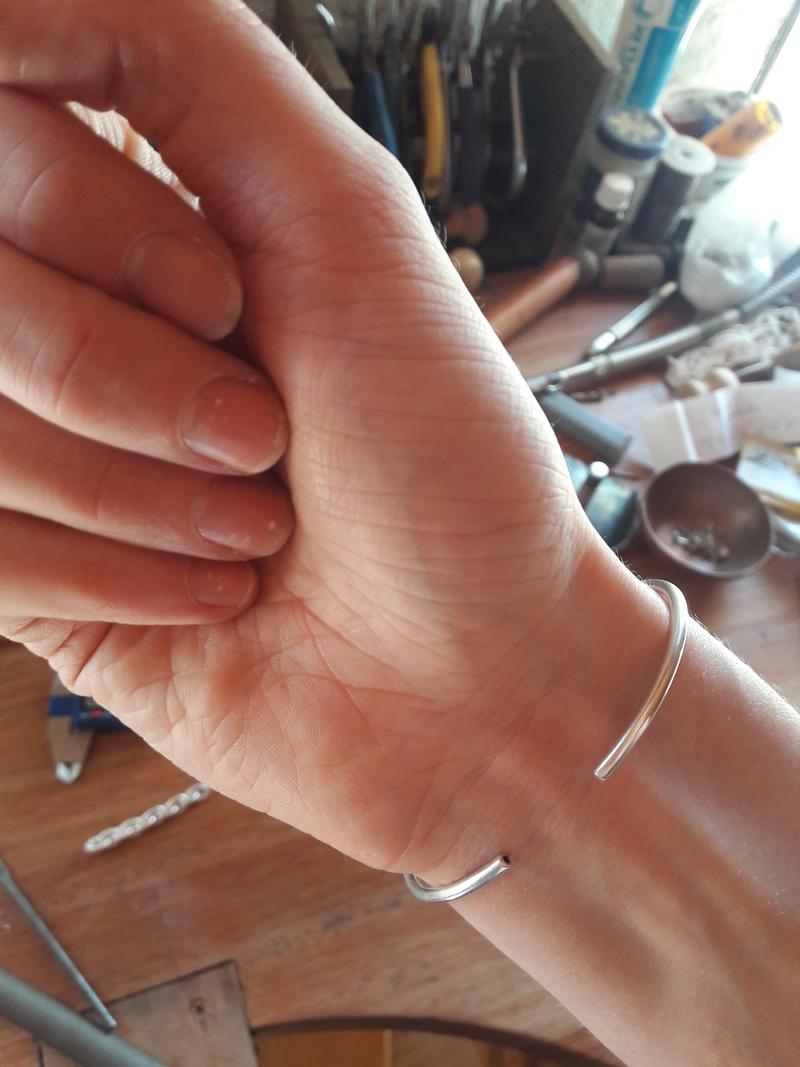 Bracelet Jonc 18 k jaune 20180310