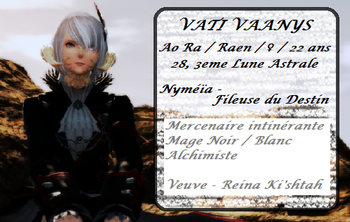 Vati Vaanys - Chasseuse d'étoiles Ffxiv_10