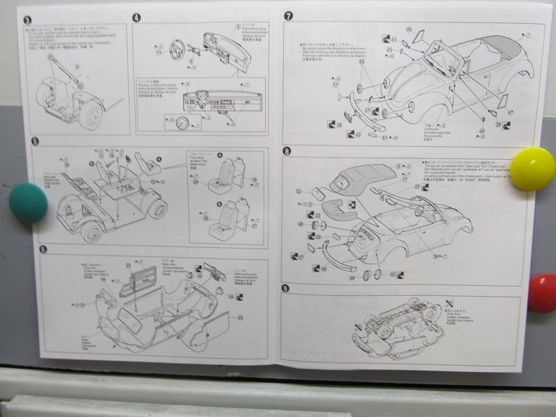 VW 1303 S Cabriolet / Aoshima 1 zu 24 Img_5437