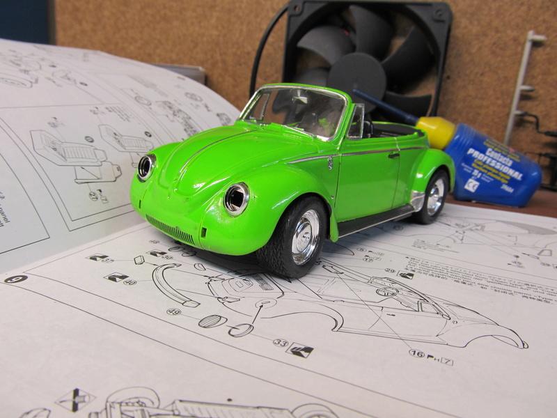 VW 1303 S Cabriolet / Aoshima 1 zu 24 Img_5441