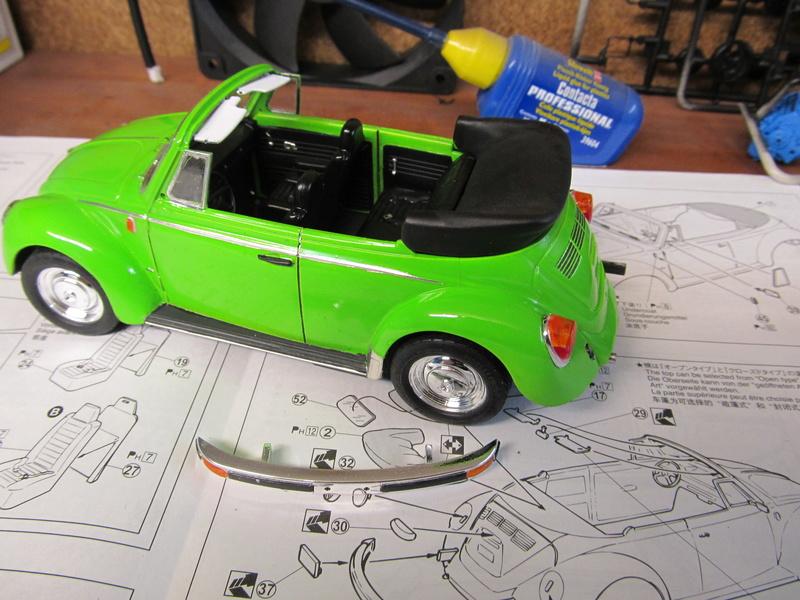 VW 1303 S Cabriolet / Aoshima 1 zu 24 Img_5448