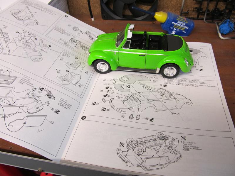 VW 1303 S Cabriolet / Aoshima 1 zu 24 Img_5449