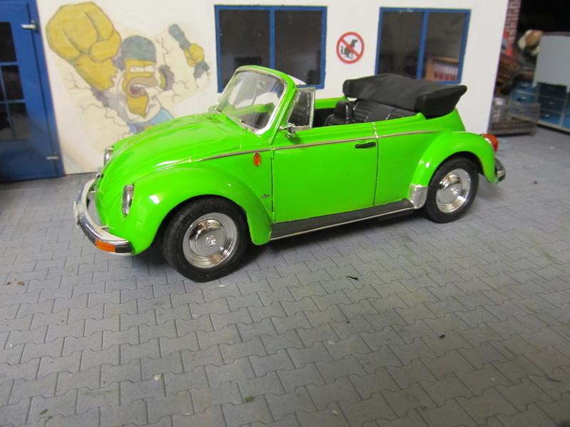 VW 1303 S Cabriolet / Aoshima 1 zu 24 Img_5451