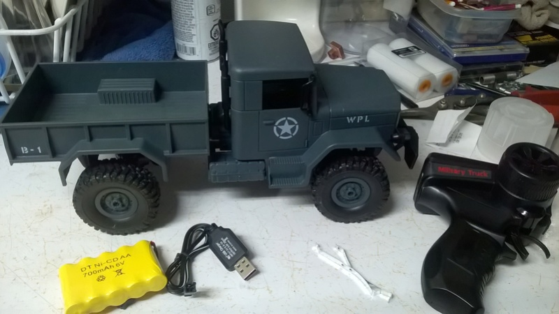 Heng Long Military Truck 1:16 Wp_20113