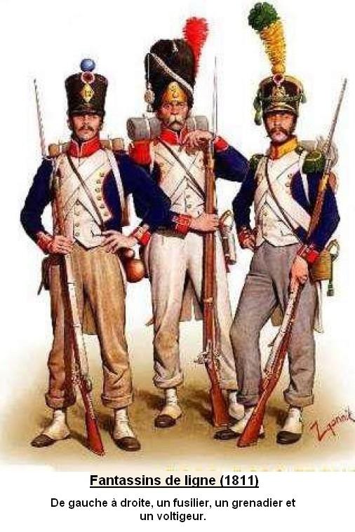L'infanterie Française de la révolution à la fin de l'empire Fantas12
