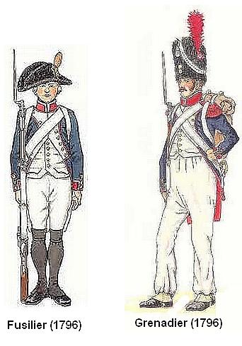 L'infanterie Française de la révolution à la fin de l'empire Infant10