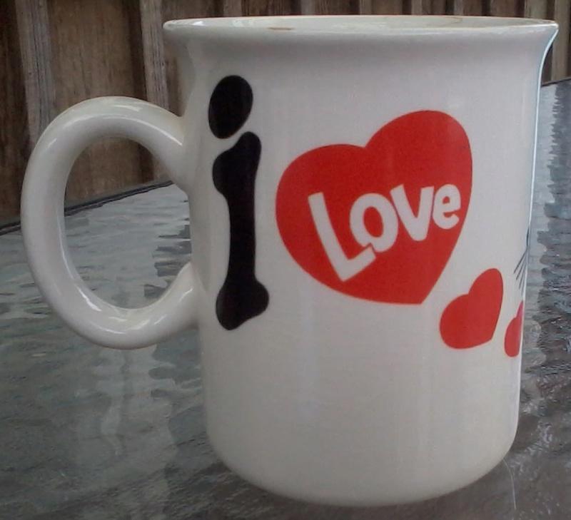 I love cats mug pattern 2018-013