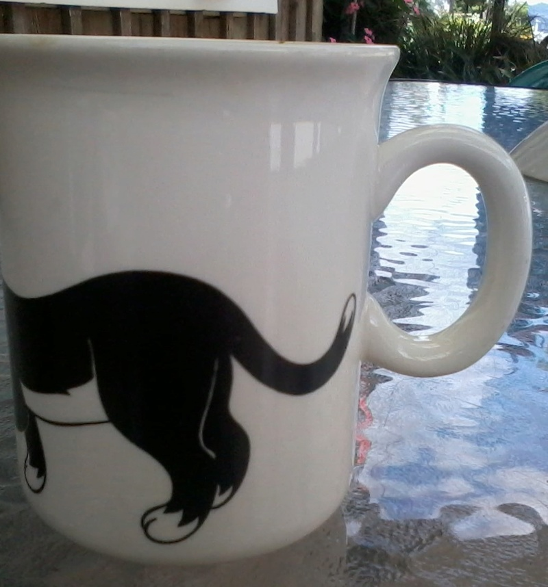 I love cats mug pattern 2018-014