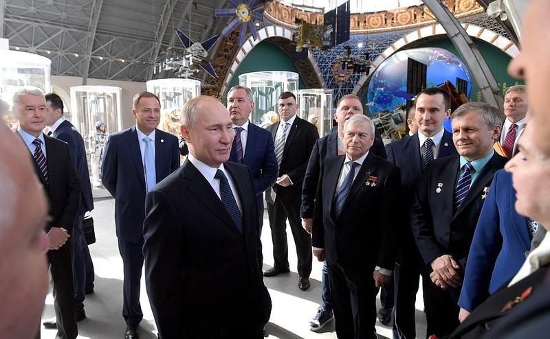 Le Pavillon Cosmos a réouvert à Moscou ! Moscou12