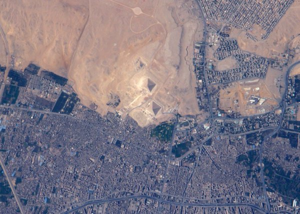 Pyramides d'Égypte Monument d'Henok et Nouv Jérusalem Cgavnf10