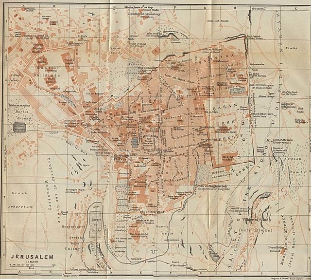 Mont des Oliviers confirme la Vraie localisation du Temple Jerusa12