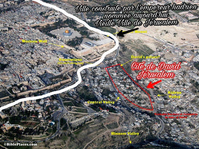 Mont des Oliviers confirme la Vraie localisation du Temple Picsar17