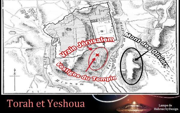 Mont des Oliviers confirme la Vraie localisation du Temple Picsar26