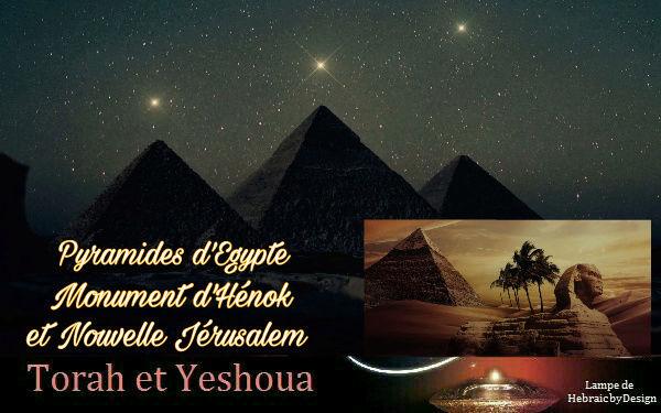 Pyramides d'Égypte Monument d'Henok et Nouv Jérusalem Picsar76