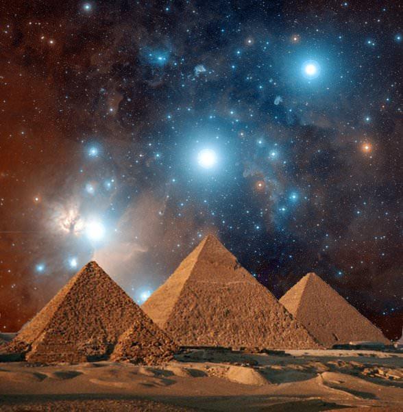 Pyramides d'Égypte Monument d'Henok et Nouv Jérusalem Pyrami11