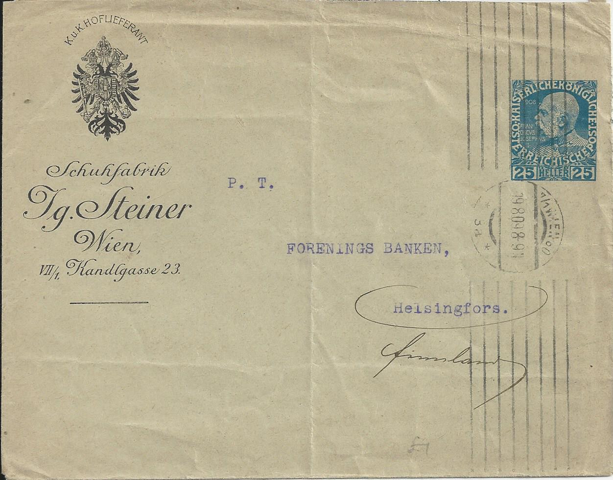 Private Briefumschläge Monarchie Bild102