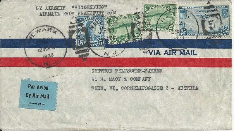 Zeppelinpost aus USA Bild22