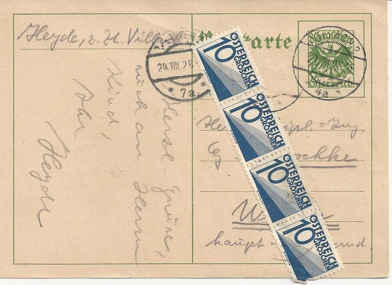 Verwendung von Portomarken in Österreich - Seite 2 Bild35