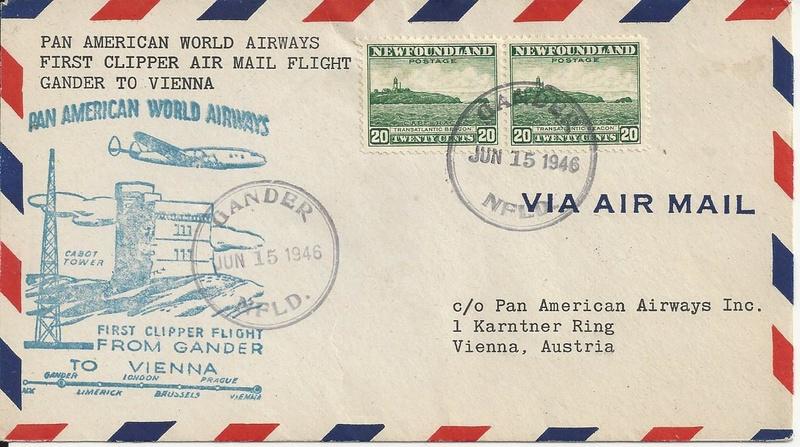 nach - Luftpost,Erstflüge sammeln - Seite 2 Bild54