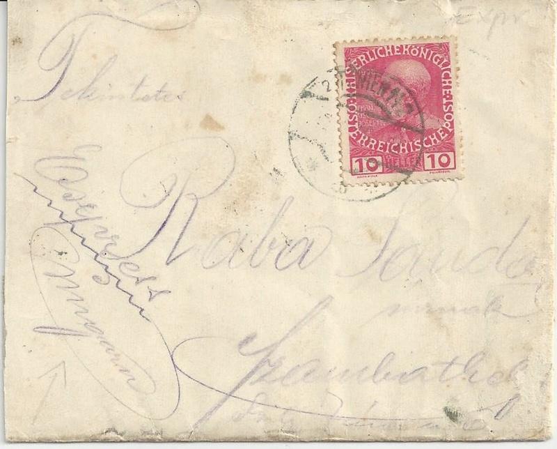 Die Auslandsexpreßgebühr ab 1.9.1918 Bild62