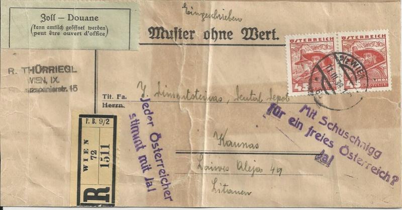 Österreich 1925 - 1938 - Seite 9 Bild72