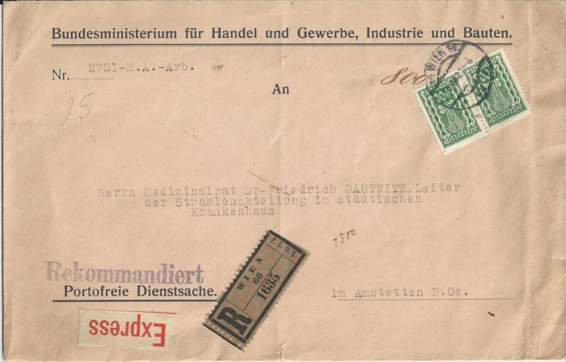 Inflation in Österreich - Belege - 1918 bis 1925 - Seite 15 Bild79