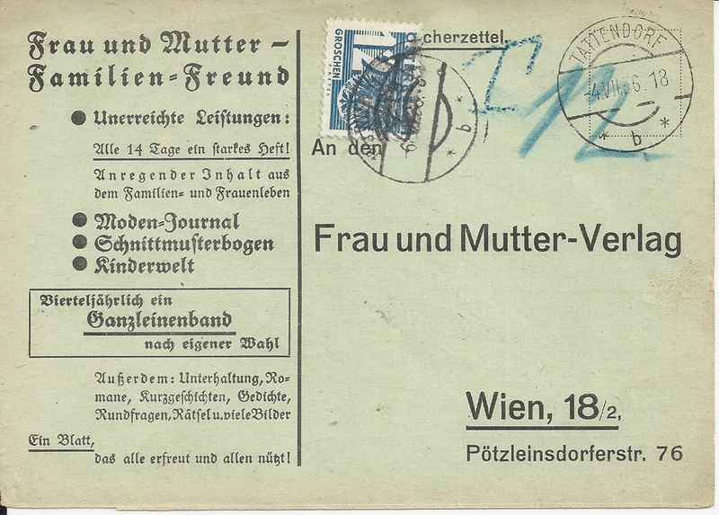 Verwendung von Portomarken in Österreich - Seite 2 Bild87
