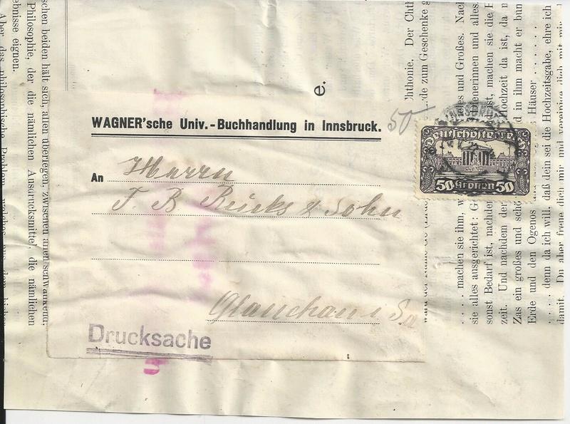 Inflation in Österreich - Belege - 1918 bis 1925 - Seite 16 Bild97