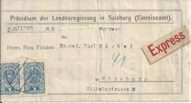 Inflation in Österreich - Belege - 1918 bis 1925 - Seite 16 Bild99