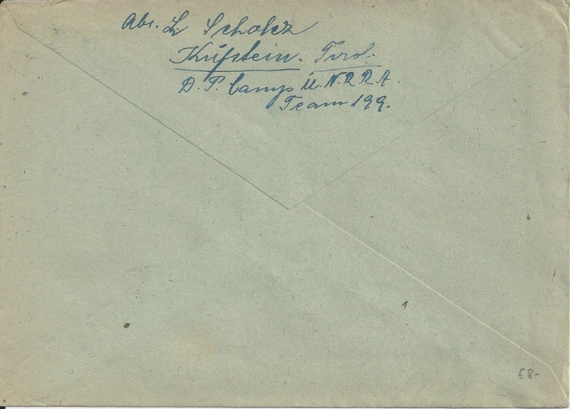 Posthornzeichnung  -  ANK 697-713  -  Belege - Seite 3 Bild_224