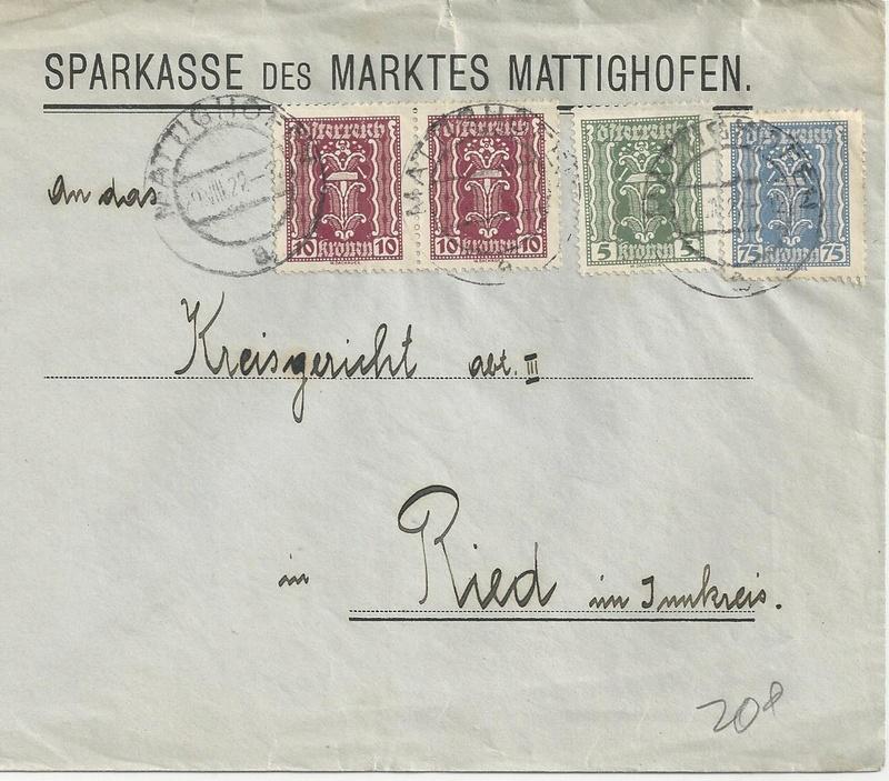 Briefe / Poststücke österreichischer Banken - Seite 4 Bild_237