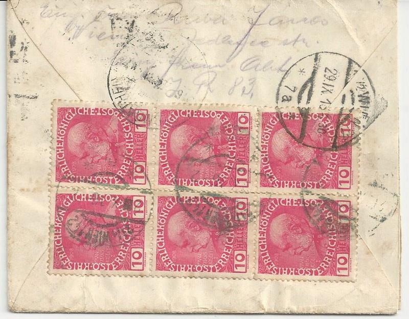 Die Auslandsexpreßgebühr ab 1.9.1918 Bild_259