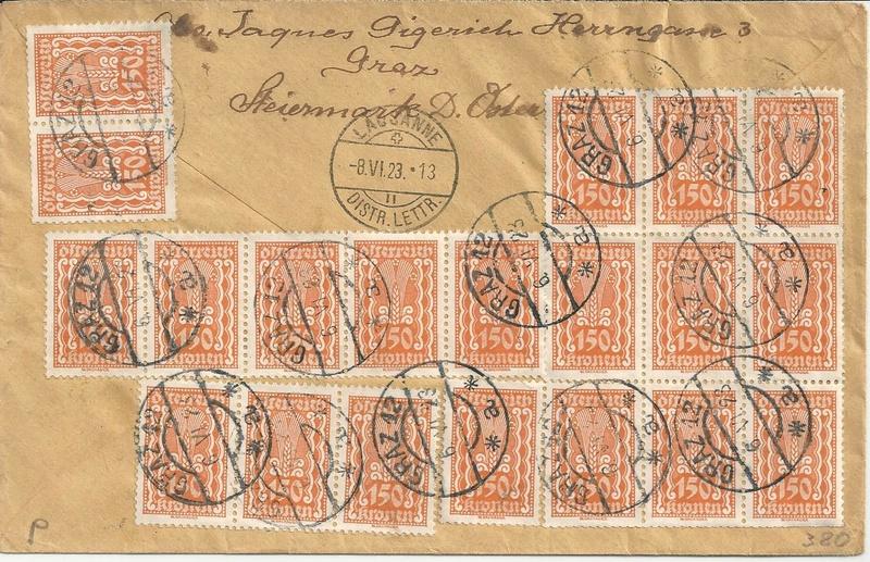Inflation in Österreich - Belege - 1918 bis 1925 - Seite 14 Bild_262