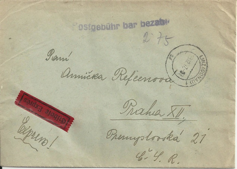 Österreich 2. Währungsreform 10.12.1947 - Belege Bild_273
